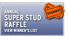 ARF Super Stud Raffle Winner's List